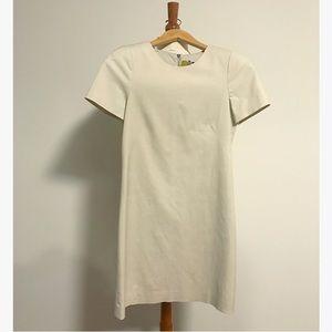 Theory Khaki Shift Dress